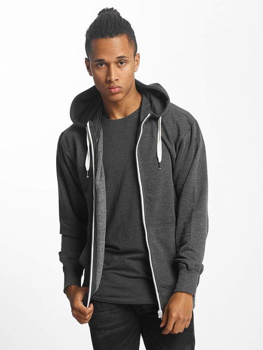Paris Premium Zip Hoodie Basic grå