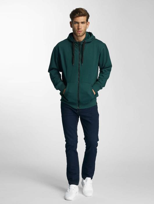 Paris Premium Zip Hoodie Town House green