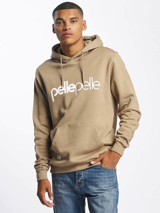 Pelle Pelle Hoody Back 2 Basics bruin