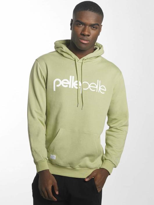 Pelle Pelle Hoody Back 2 Basics grün