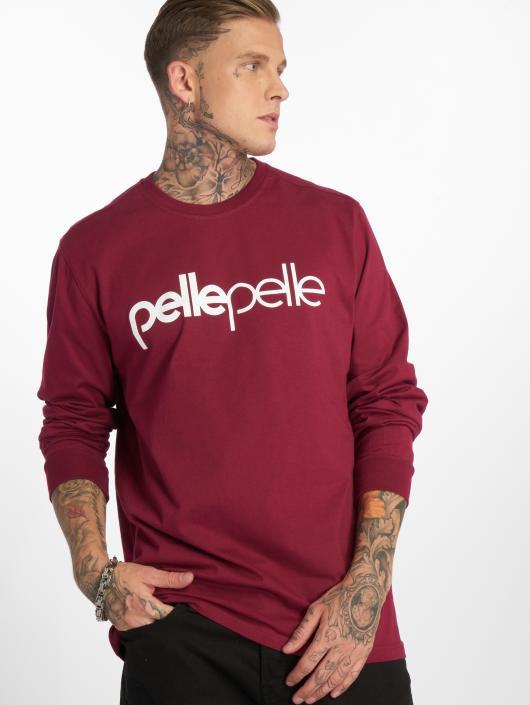 Pelle Pelle Longsleeve Back 2 The Basics red