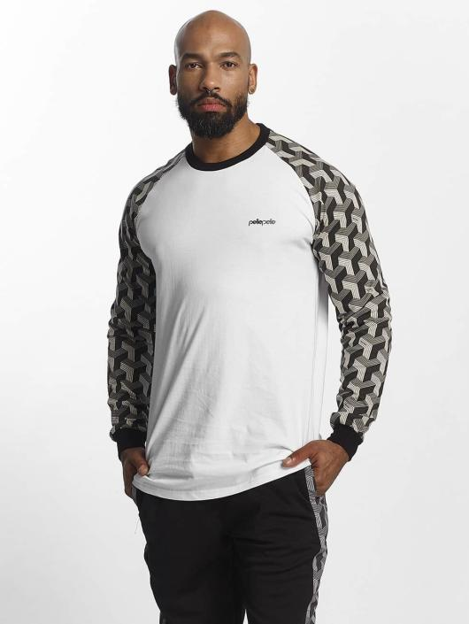 Pelle Pelle Longsleeve Blockparty Icon white