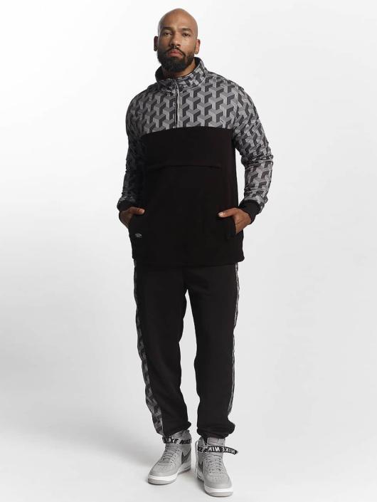 Pelle Pelle Pullover Blockparty Mockneck black