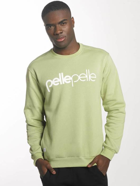 Pelle Pelle Pullover Back 2 Basics grün