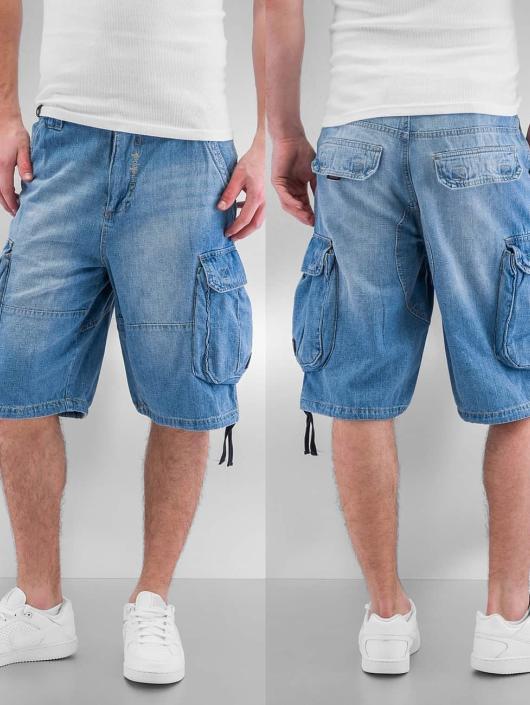 Pelle Pelle Shorts Denim blau