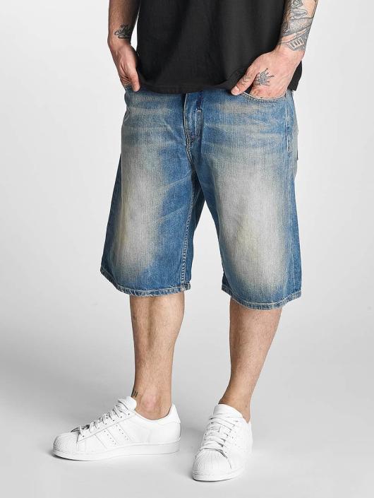 Pelle Pelle Shorts Buster Baggy Denim blau