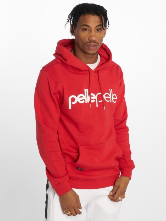Pelle Pelle Sweat capuche Back 2 The Basics rouge
