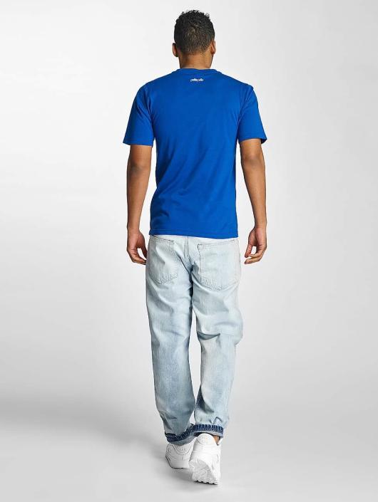 Pelle Pelle T-Shirt Stick Up Icon blau
