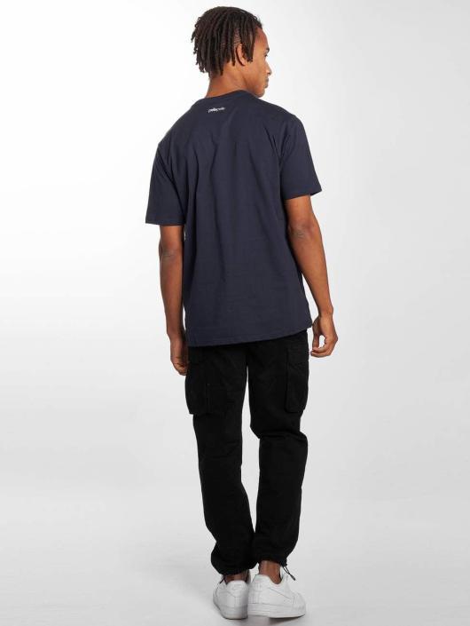 Pelle Pelle T-Shirt 4 In A Row blau