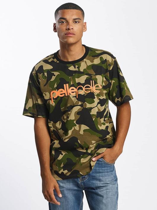 Pelle Pelle t-shirt Back 2 Basics camouflage