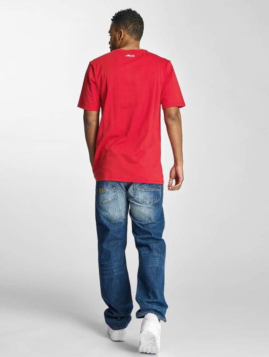 Pelle Pelle T-Shirt Stick Up Icon rot
