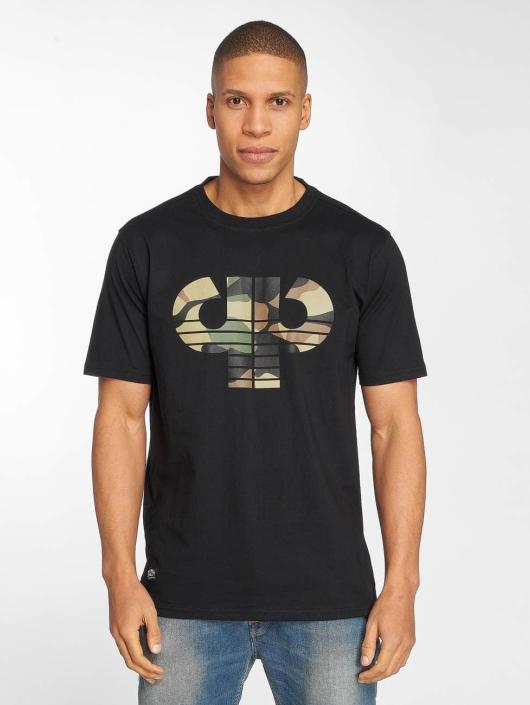 Pelle Pelle T-Shirt Camo Icon schwarz