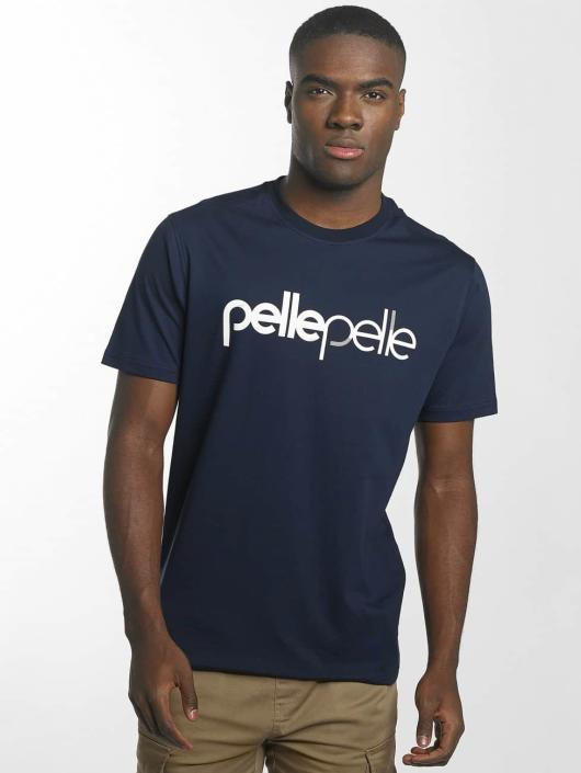 Pelle Pelle T-Shirty Back 2 Basics niebieski