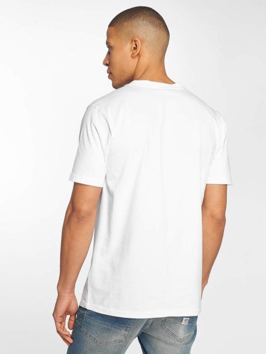 Pelle Pelle T-skjorter Signature hvit