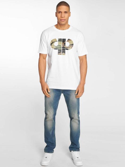 Pelle Pelle T-skjorter Camo Icon hvit