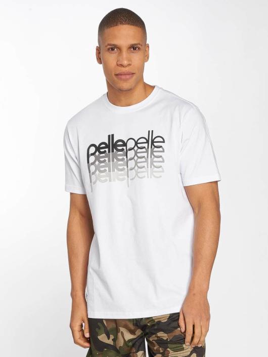 Pelle Pelle T-skjorter 4 In A Row hvit