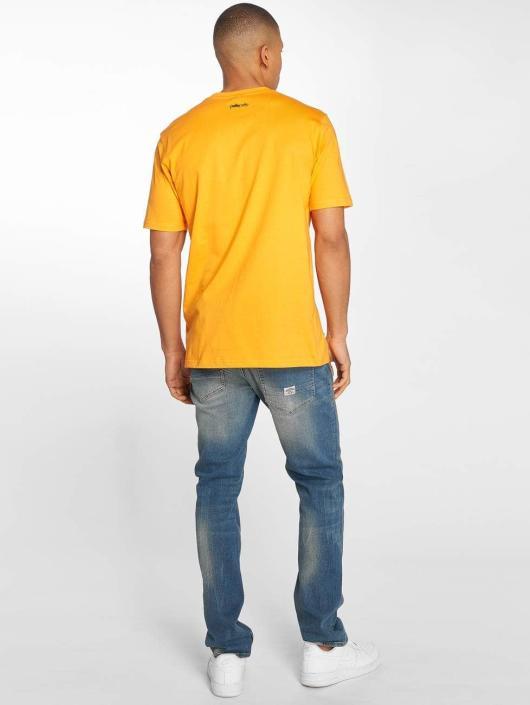 Pelle Pelle T-skjorter Camo Icon oransje