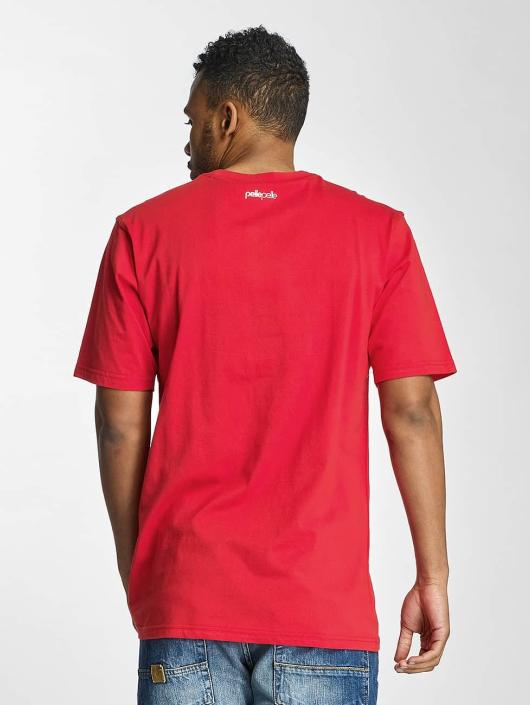 Pelle Pelle T-skjorter Stick Up Icon red