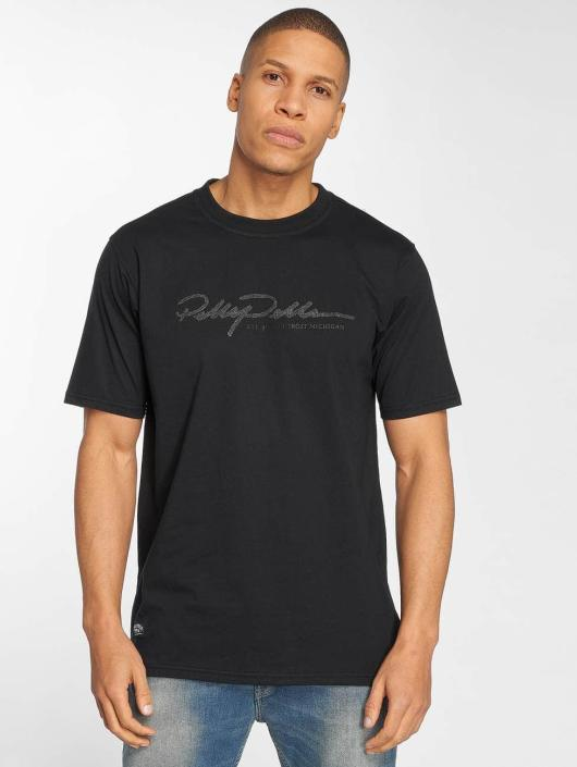 Pelle Pelle T-skjorter Signature svart