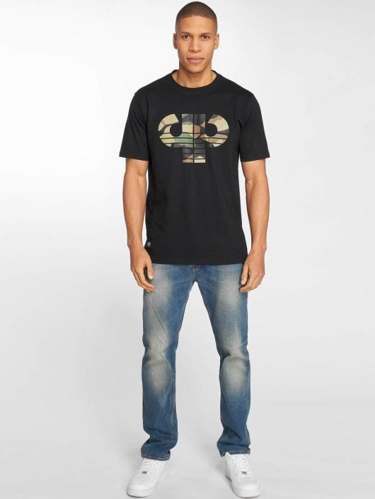 Pelle Pelle T-skjorter Camo Icon svart