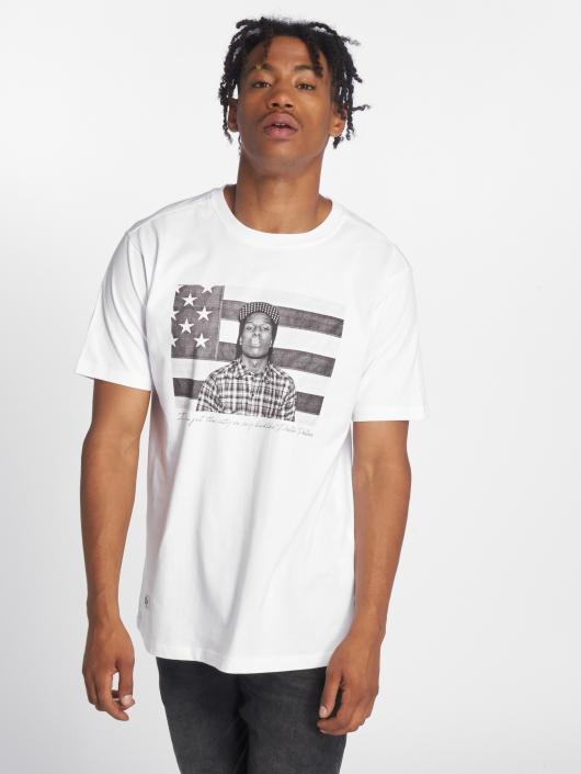 Pelle Pelle Tričká A$ap Flag biela