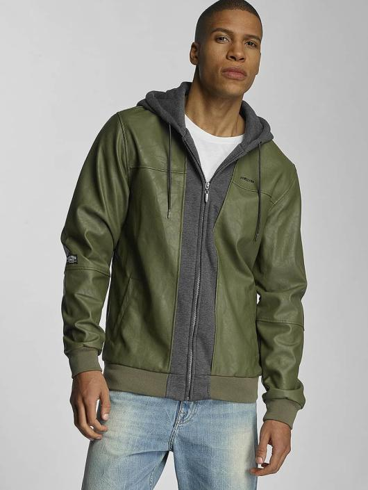 Pelle Pelle Übergangsjacke Mix-Up Padded grün
