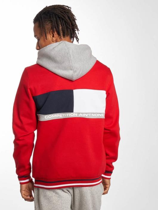 Pelle Pelle Zip Hoodie Sideline red