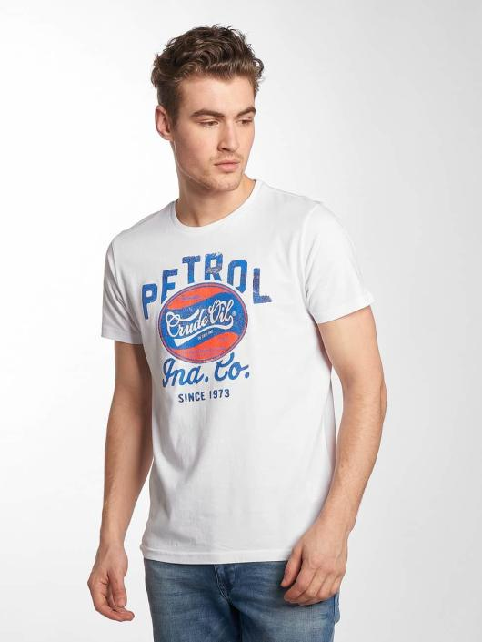 Petrol Industries Camiseta Crude Oil blanco