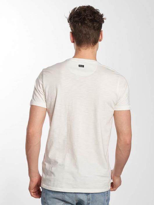 Petrol Industries Camiseta Blue Goods blanco
