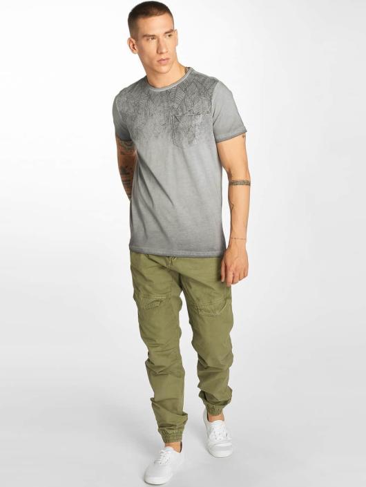 Petrol Industries Camiseta Pocket gris