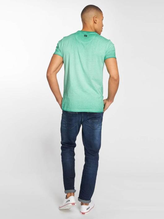 Petrol Industries Camiseta Pocket verde