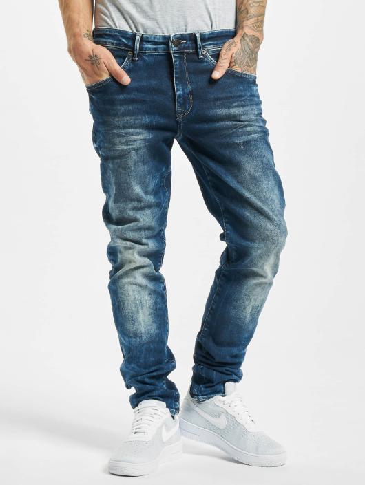 Petrol Industries Slim Fit Jeans Seaham modrá