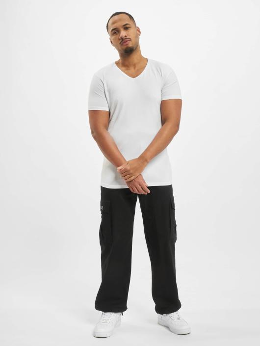 Petrol Industries T-Shirt Bodyfit Basic 2 Pack blanc