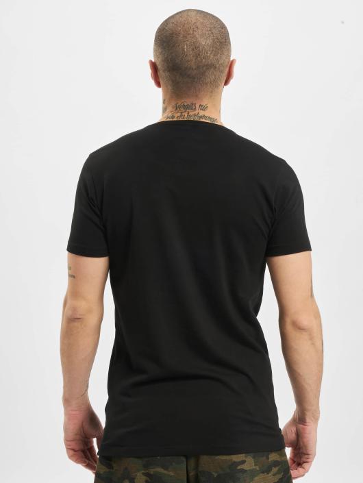Petrol Industries T-Shirt odyfit Basic 2 Pack noir