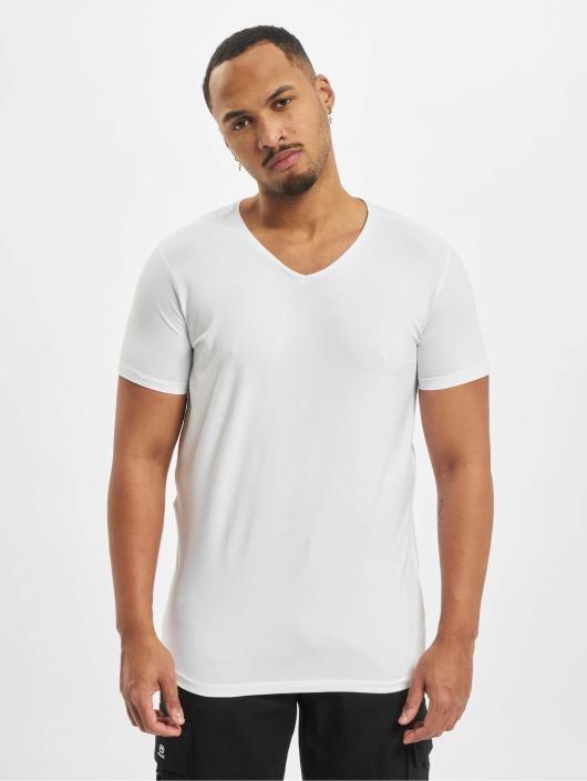 Petrol Industries T-Shirt Bodyfit Basic 2 Pack white