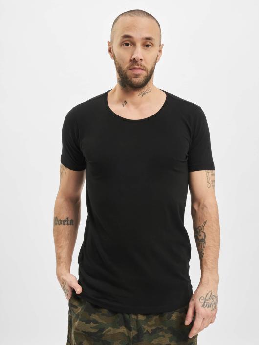 Petrol Industries T-skjorter odyfit Basic 2 Pack svart