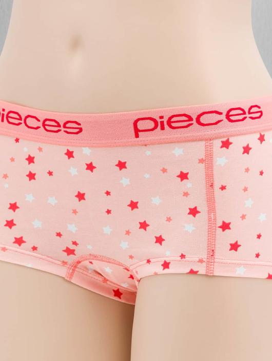 Pieces Alusasut pcLogo roosa