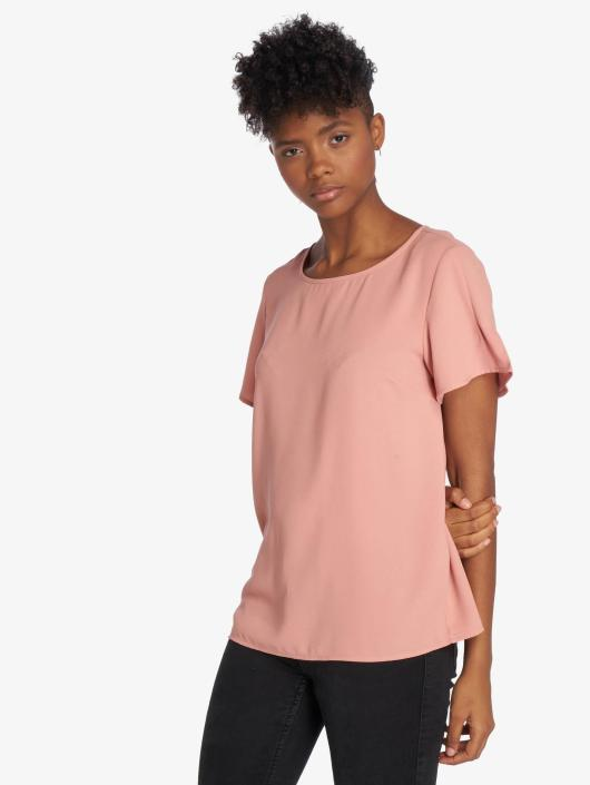 Pieces Bluse pcTally rosa
