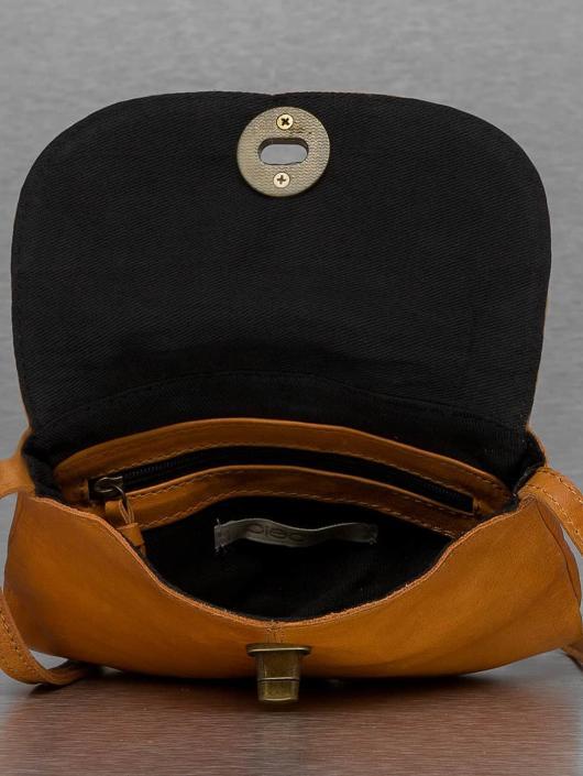 Pieces Borsa Totally Royal Leather Party marrone