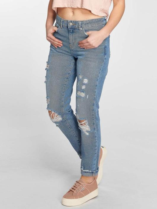 Pieces Boyfriend jeans pcBoy blå