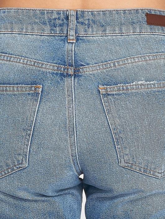 Pieces Boyfriend Jeans pcBoy modrý