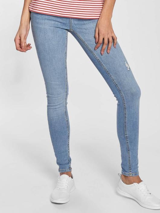 395238 Pieces Bleu Jean Delly Pcfive Skinny Femme 2E9YIWDH