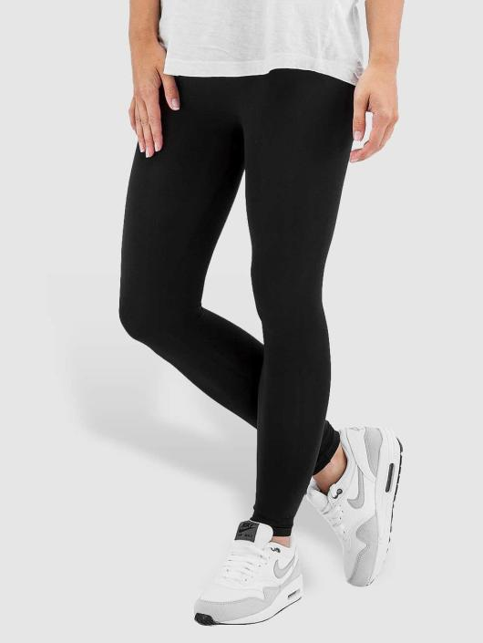Pieces Leggings/Treggings London 3/4 svart