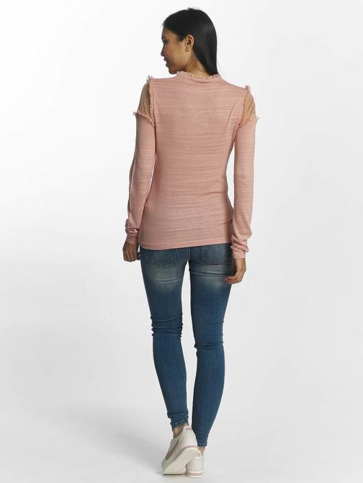 Pieces Longsleeve pcPenny rosa