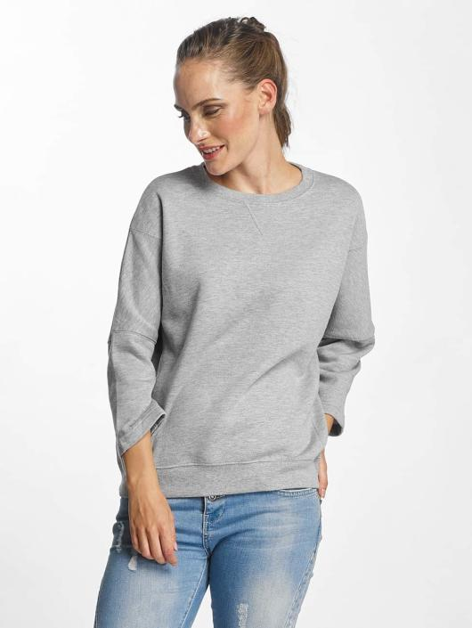 Pieces Pullover pcNomma 3/4 gray