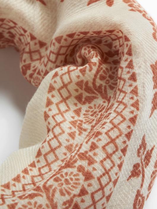Pieces Scarve / Shawl pcNora Square brown