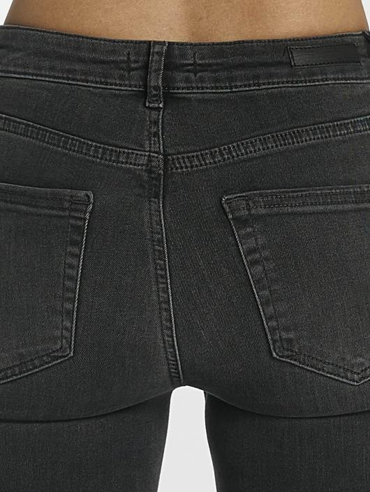 Pieces Skinny Jeans pcFive Delly šedá