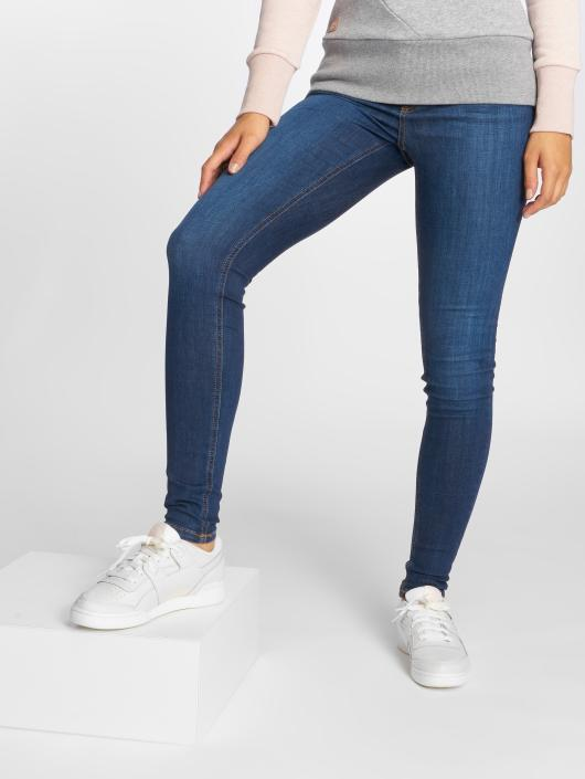 Pieces Skinny Jeans pcFive Delly B180 blau