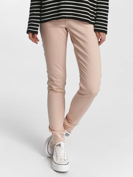Pieces Skinny Jeans pcPushup růžový