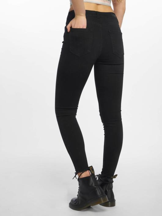 Pieces Skinny Jeans PCFive Delly schwarz